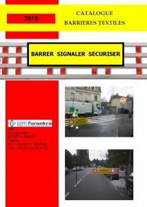 Barrier catalogue