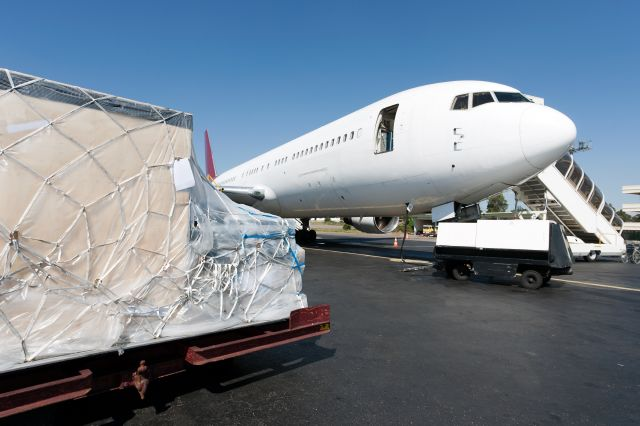 Cargo net for PMC-PAG Pallet
